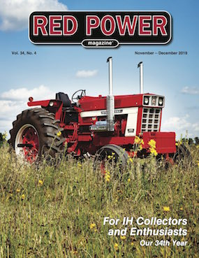 November-December 2019 Red Power Magazine Cover